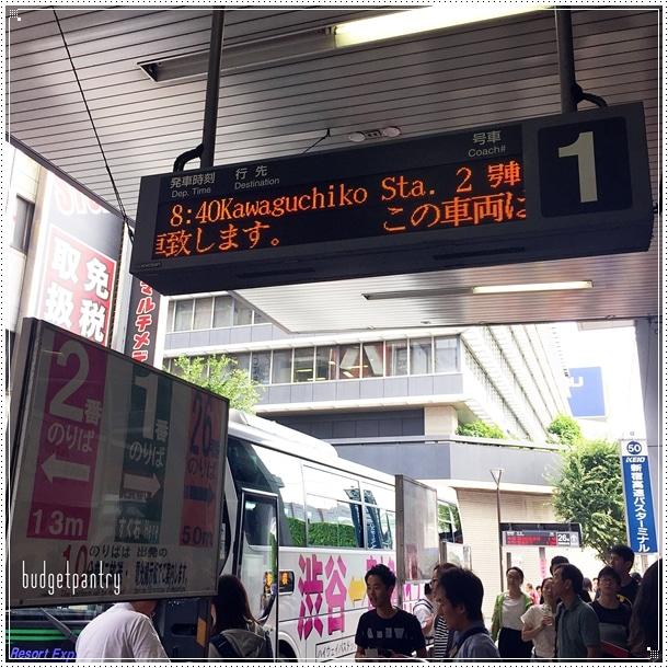 Kwaguchiko bus