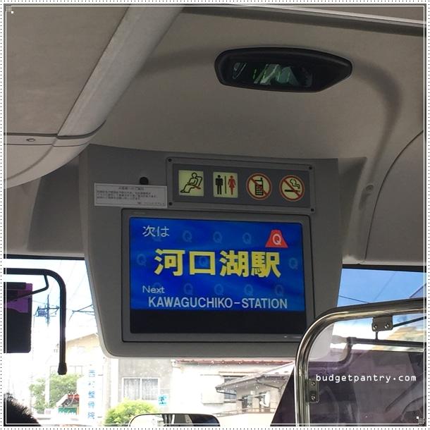 bus announcement