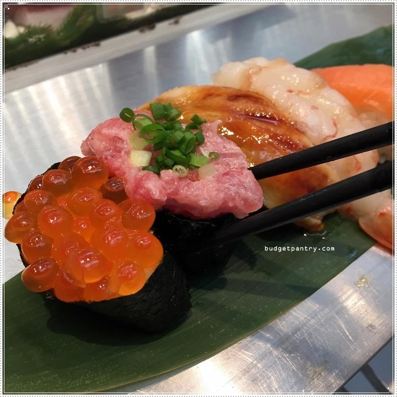 standing sushi bar negi toro