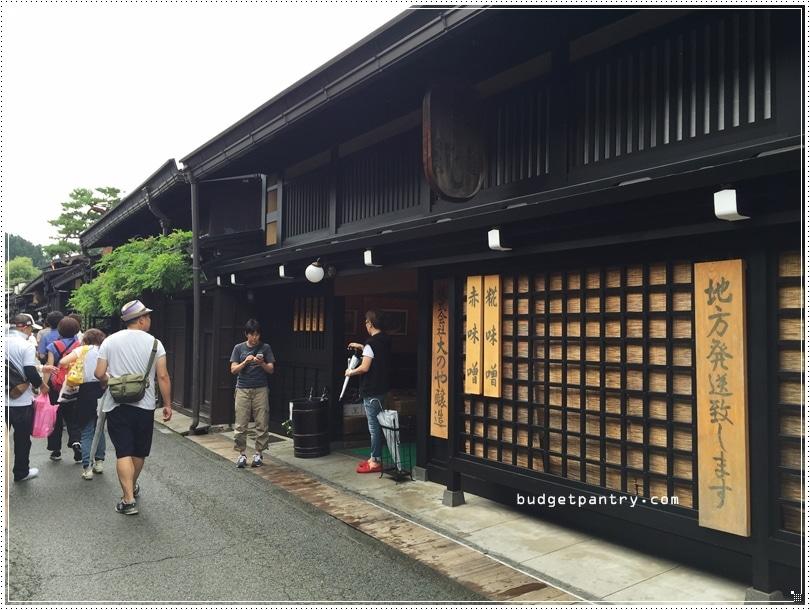 Takayama old town 1