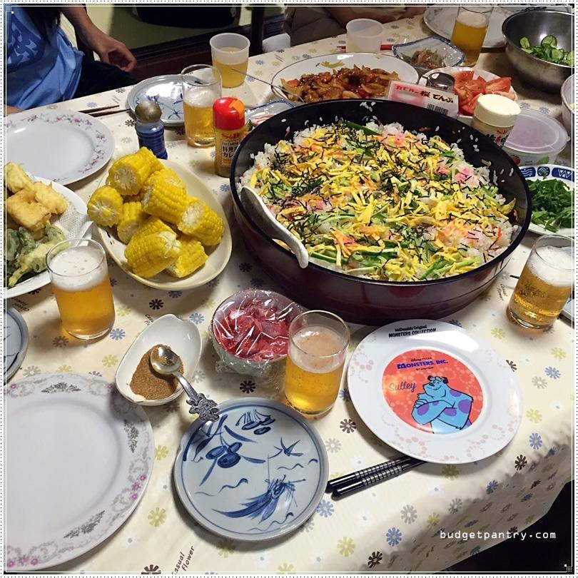 takayama dinner table