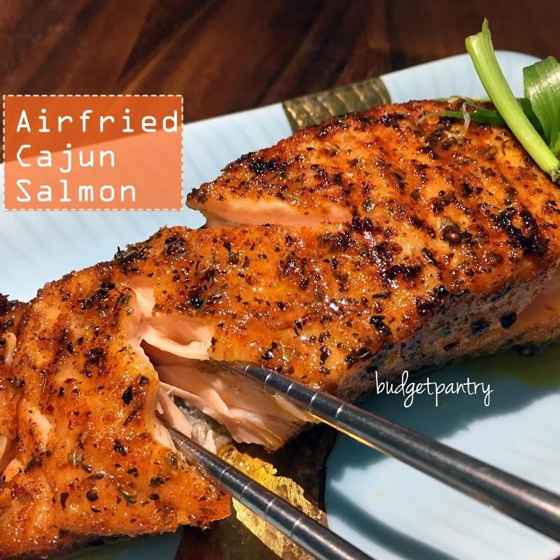 Airfried Cajun Salmon2