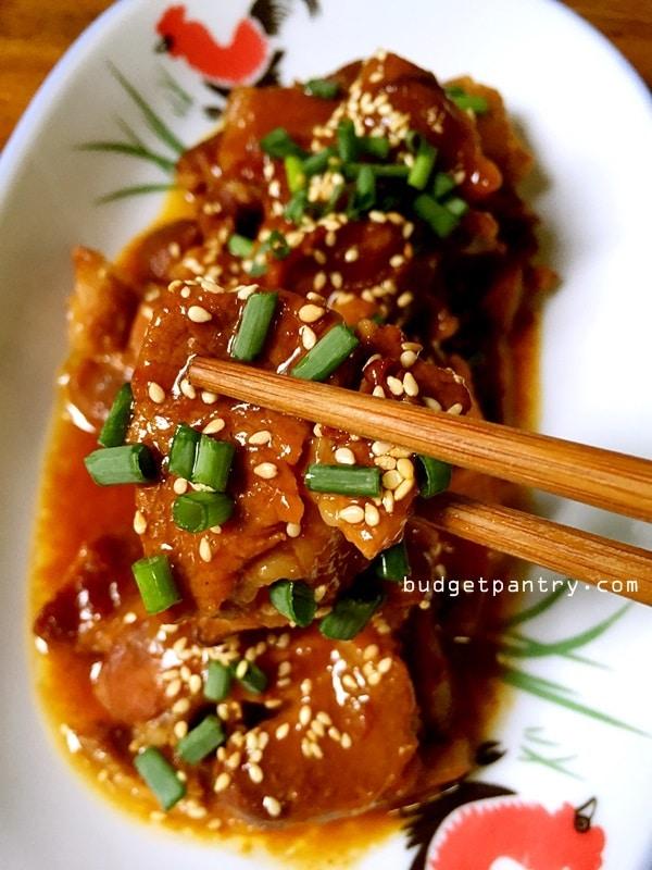 Slow cooker plum sauce pork chops12