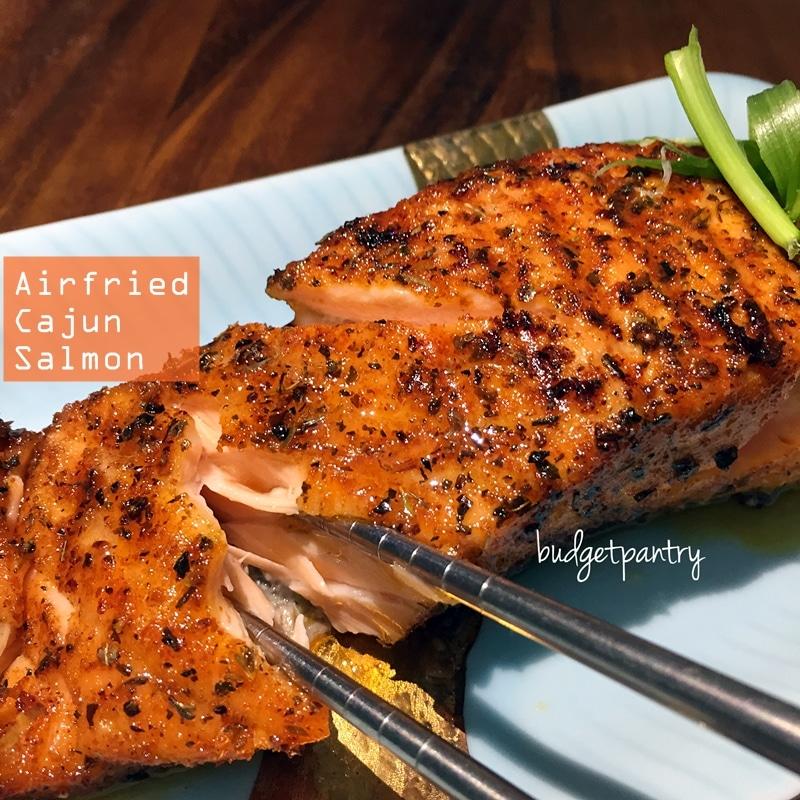 Airfried Cajun Salmon
