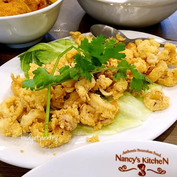 nancys kitchen fried sotong