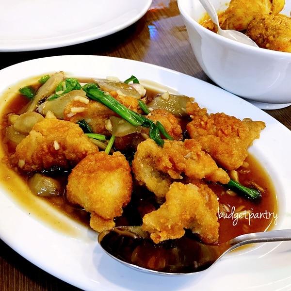 nancys kitchen ginger fish