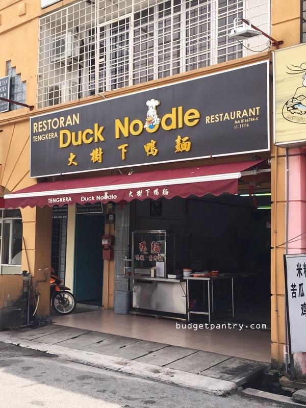 tengkera duck noodle restaurant