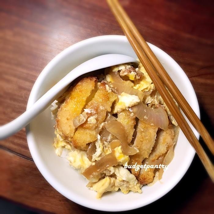 how to make chicken katsu don