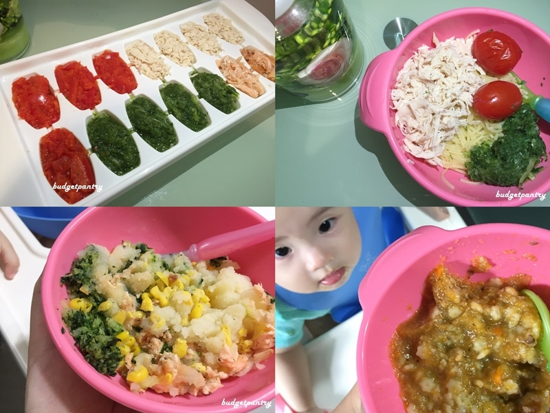 Typical meals for my 11-month old: basic preparation tips and menu ideas  for baby ⋆